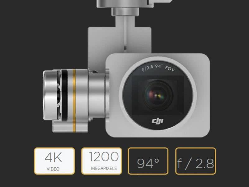 DJI Phantom 3 камера 4K