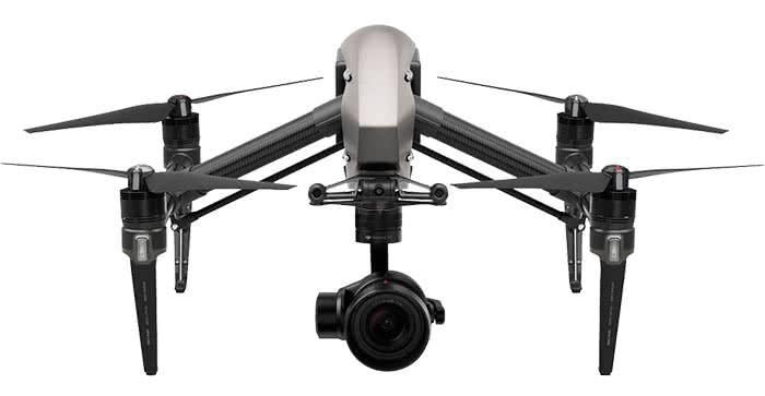 Квадрокоптер DJI Inspire 2 фото