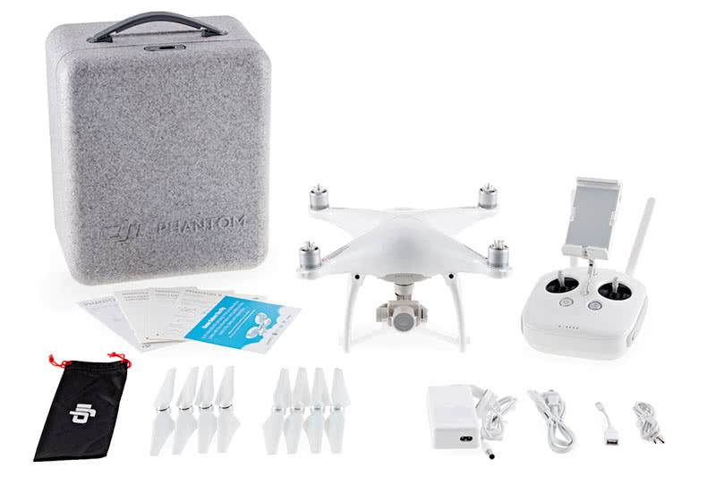 Комплектация DJI Phantom 4 Advanced