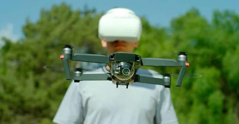Управление квадрокоптером через DJI Goggles