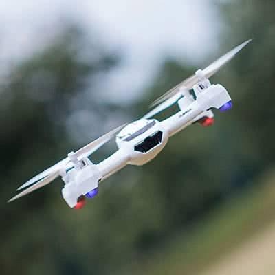 Hubsan X4 H502S в полёте