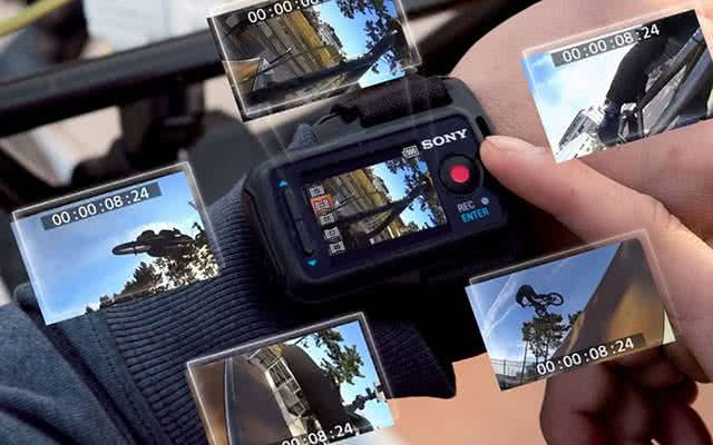 Управление Sony-HDR-AS20