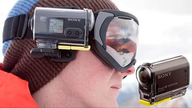 Экшн-камера Sony HDR-AS20 крепление