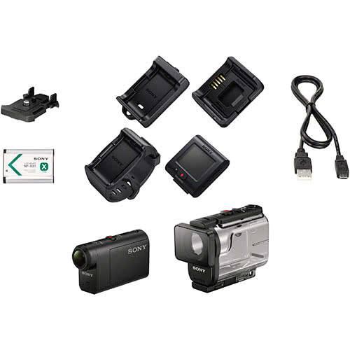 Комплектация камеры Sony HDR AS50