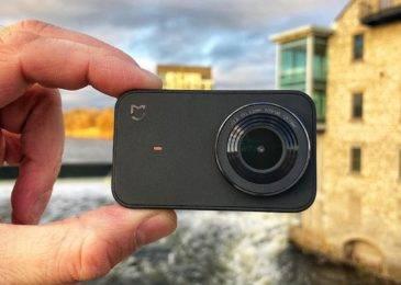 Экшн камера Xiaomi MiJia 4K