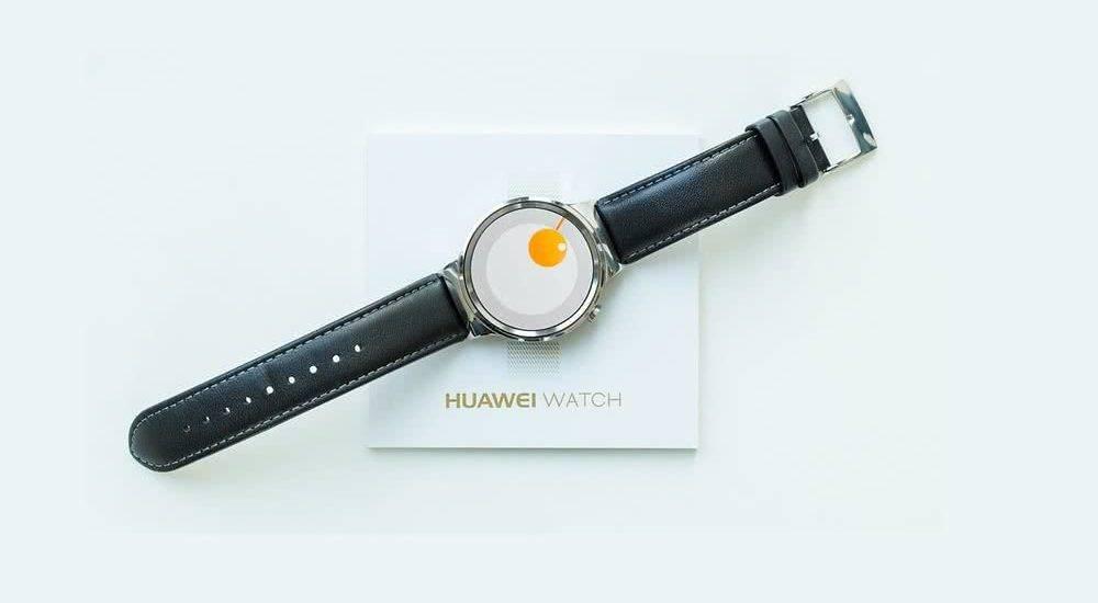 Huawei разрабатывает смарт-часы с сенсорной рамкой вокруг дисплея