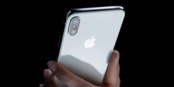 Iphone X обратная сторона