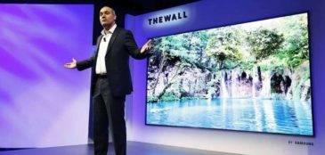 Телевизор гигант от Samsung