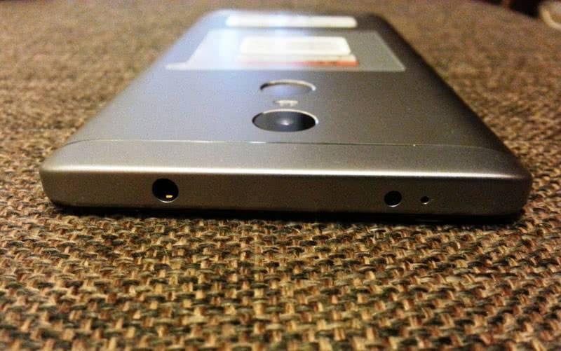 Redmi Note 4X камера