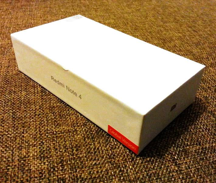 Redmi Note 4X в коробке