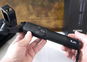 GoPro Karma Grip — трехосевой стабилизатор