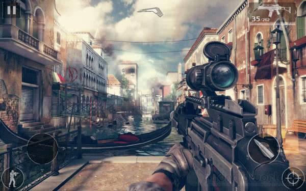 Modern Combat 5: Blackout на андроид