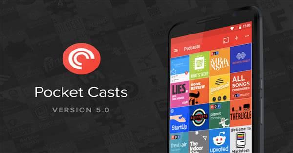 Pocket Casts для андроид