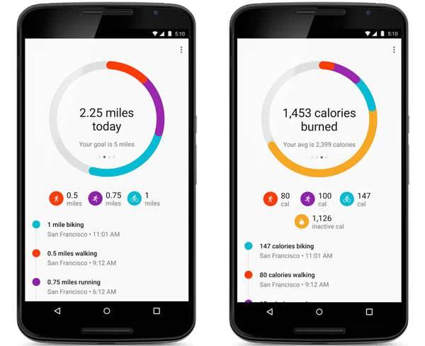 Google Fit для android