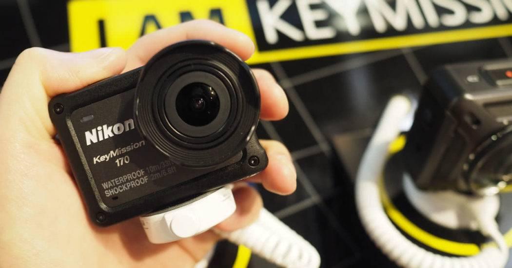 Обзор Nikon KeyMission 170 — защищенная камера без бокса