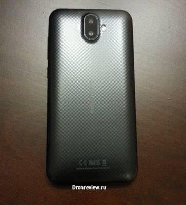 Ulefone S7 обратная сторона