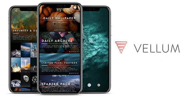 Vellum Wallpapers приложение