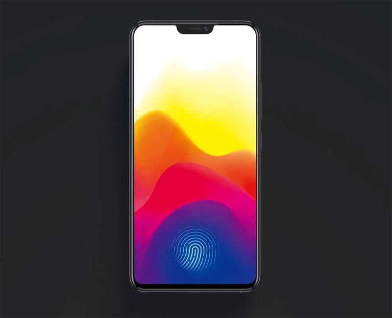 Сканер отпечатков Vivo X21
