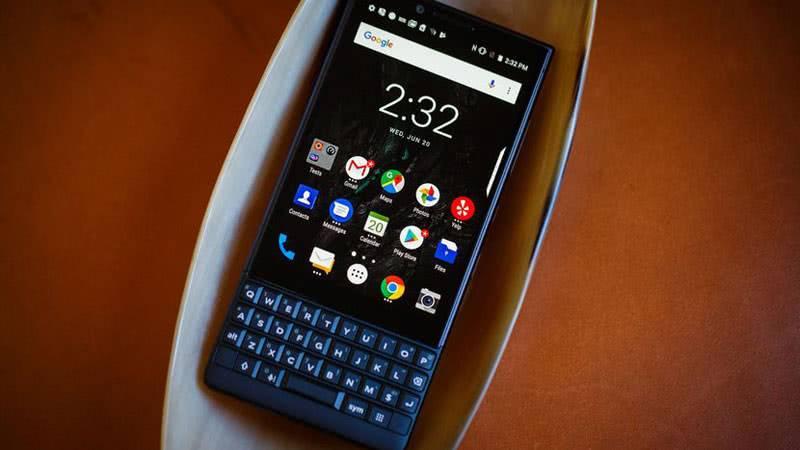 BlackBerry KEY2 приложения