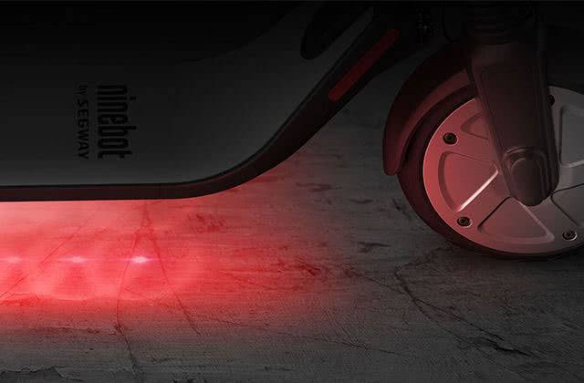Ninebot Kickscooter ES4 подсветка