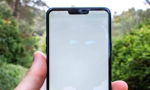 LG G7 ThinQ вырез на дисплее