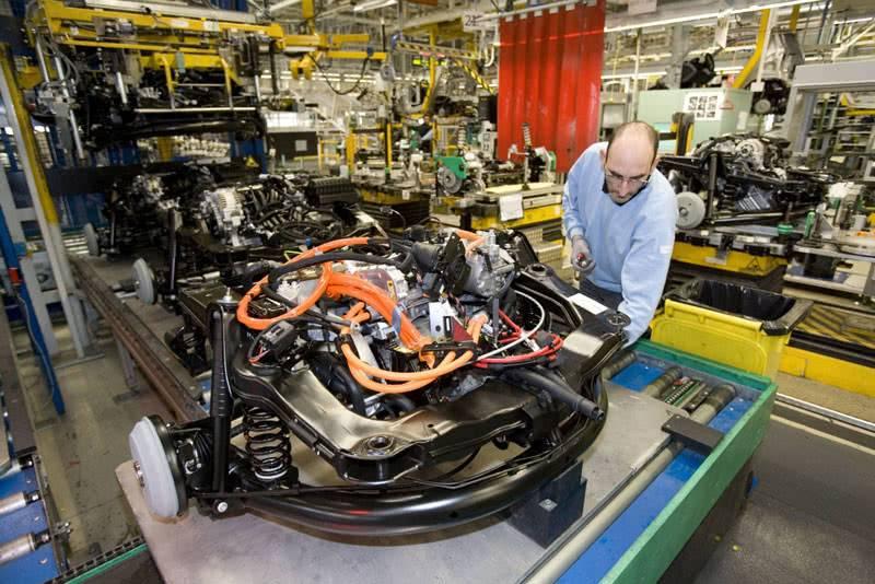 Производство электромобиля