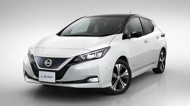 Nissan Leaf 2018 фото
