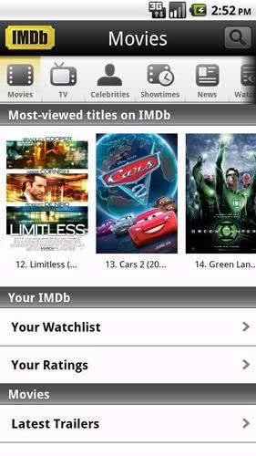 Приложение IMDb
