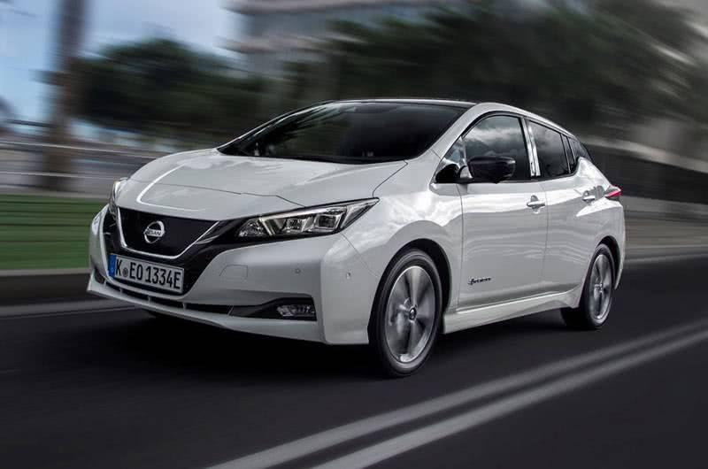 Nissan Leaf внешний вид