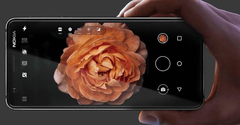 Экран Nokia 3.1