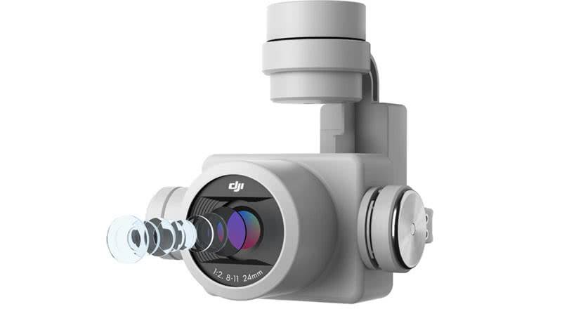 Камера квадрокоптера DJI Phantom 4 pro v 2.0
