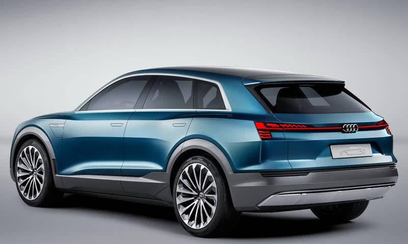 Audi e-tron quattro 2018 фотография