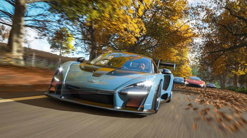 Forza Horizon 4 осенью