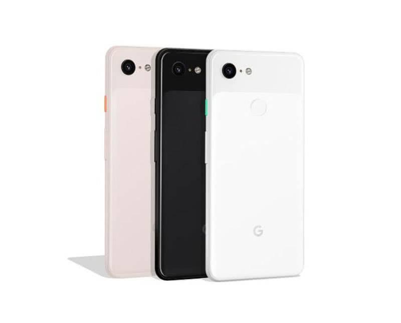 3 цвета Google Pixel 3