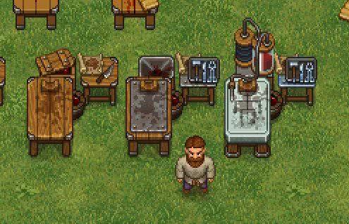 Graveyard Keeper геймплей