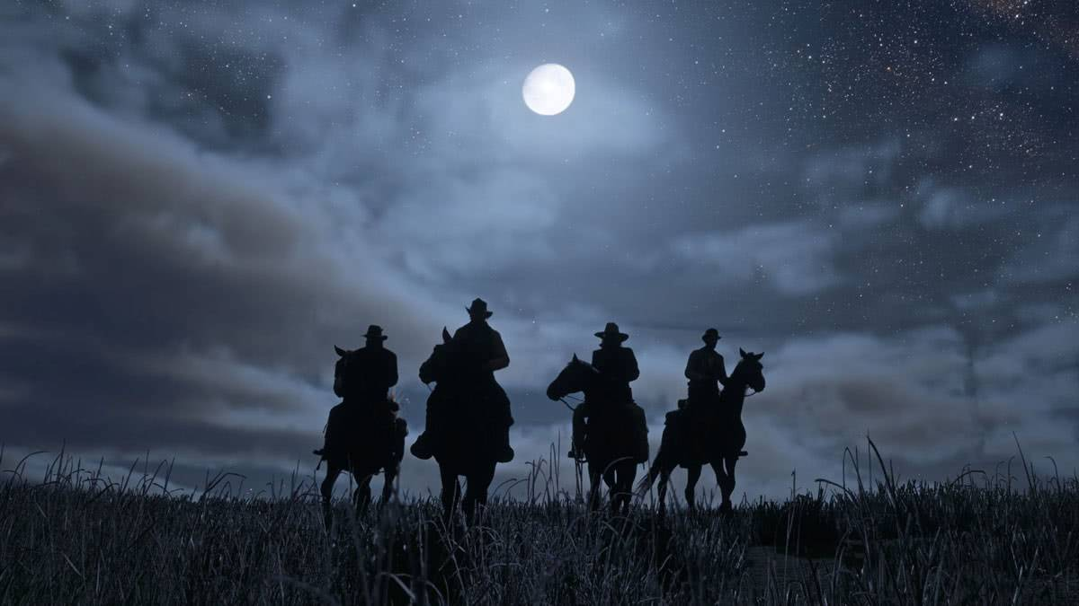 Мир red dead redemption 2