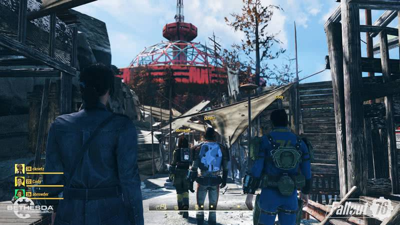 Fallout 76 геймплей