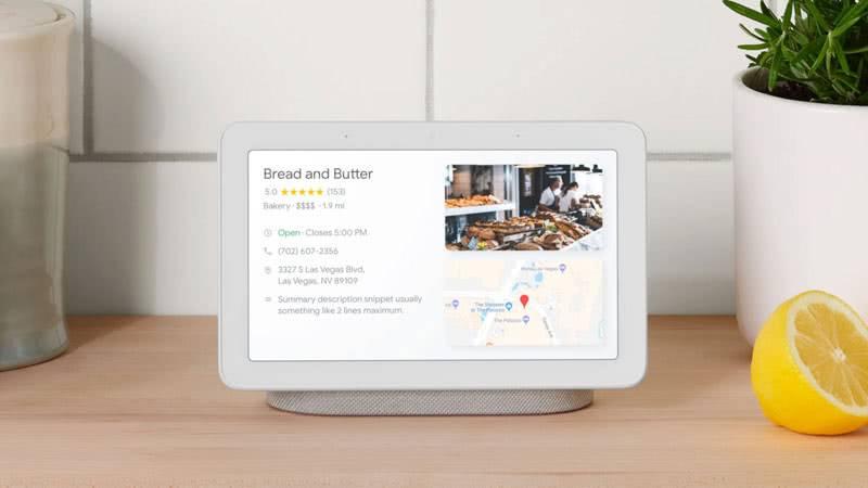Google Home Hub фото