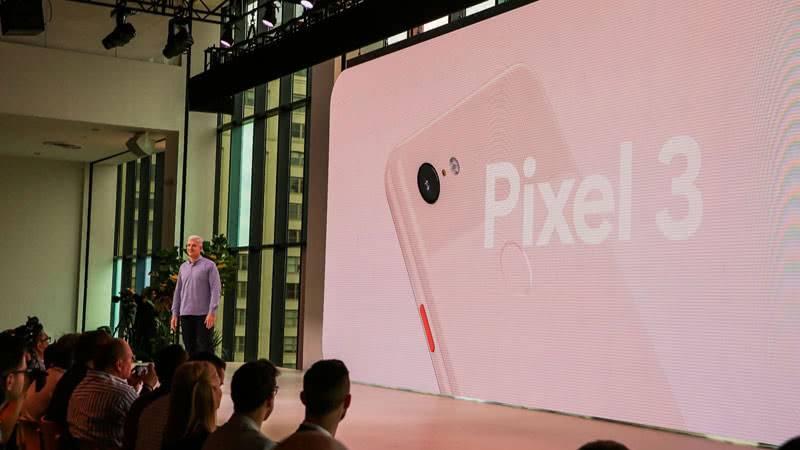 Google Pixel 3 презентация