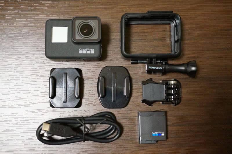 Комплектация GoPro Hero 7 Black