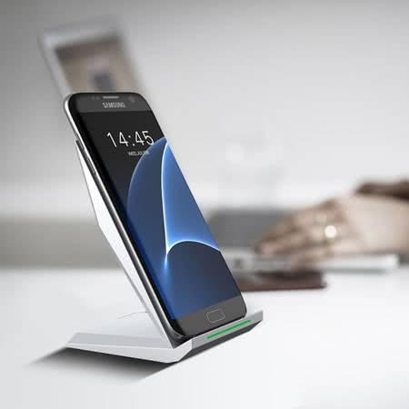 Вертикальная беспроводная зарядка для Samsung