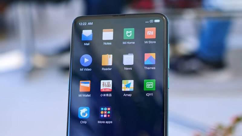 Программное обеспечение Xiaomi Mi Mix 3