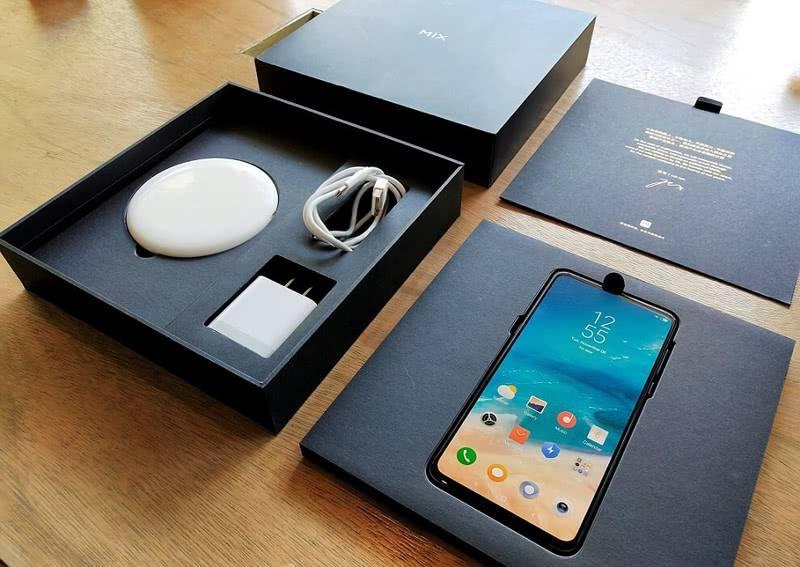 Xiaomi Mi Mix 3 распаковка