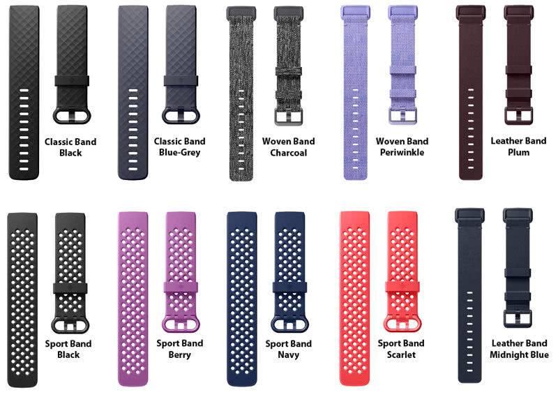 Ремешки для Fitbit Charge 3