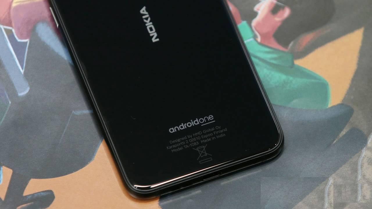 Nokia 6.1 Plus крышка