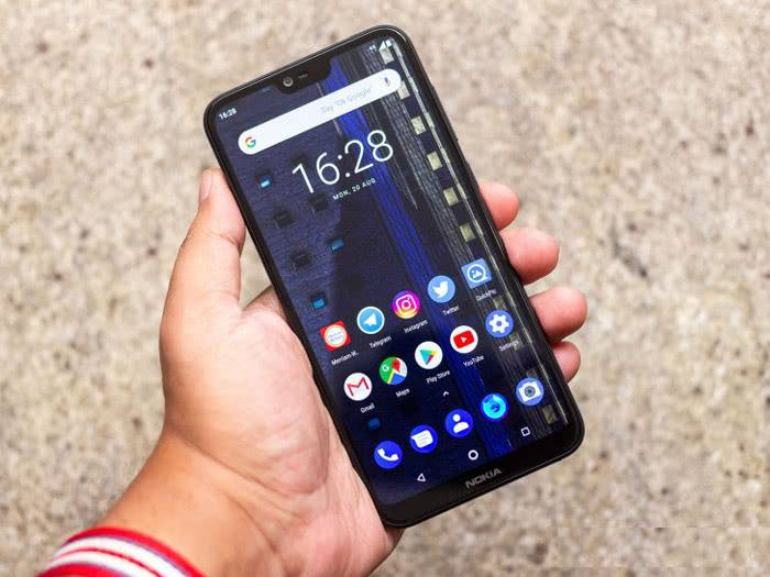 Экран Nokia 6.1 Plus