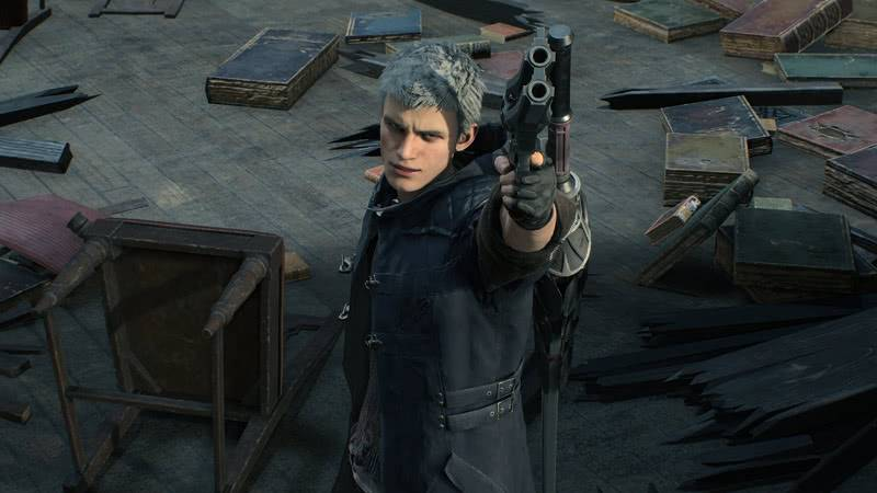 Devil May Cry 5 оружие