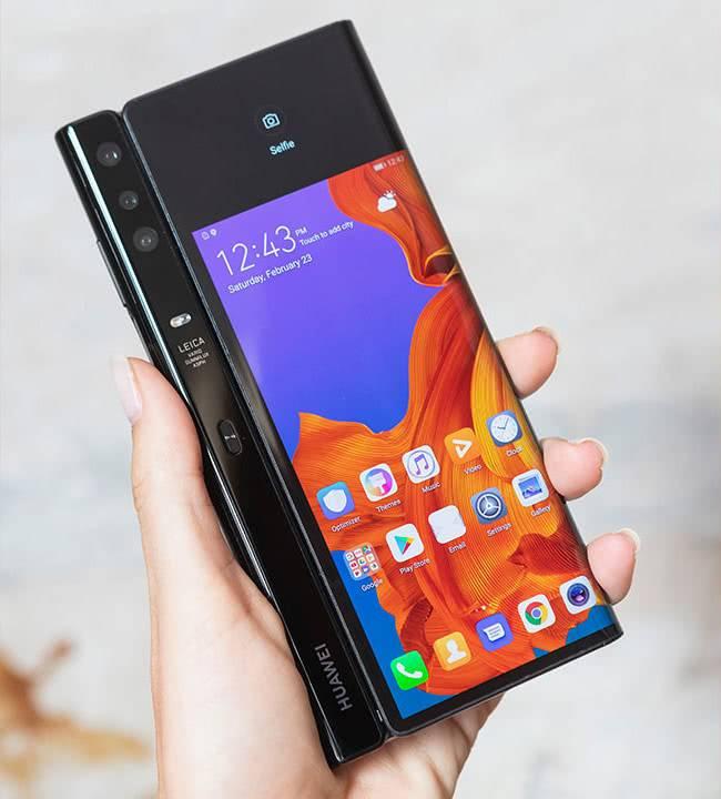 Камеры Huawei Mate X