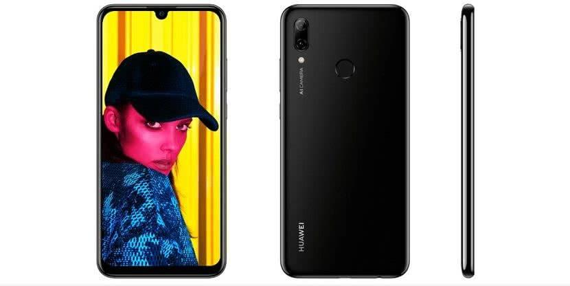 Дизайн Huawei P Smart 2019