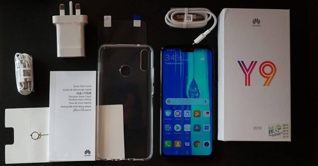 Комплектация Huawei Y9 2019